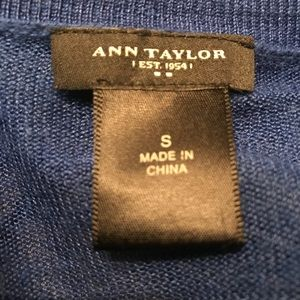 Ann Taylor Sweaters - Ann Taylor sheer knit sweater